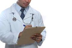 Przepisywać lekarki Obraz Stock