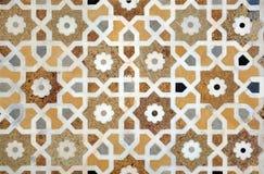 przeplata islamskiego wzór Obraz Royalty Free