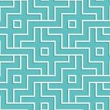 Przeplatający biały geometryczny wzór Łączyć bezszwowego tło Fotografia Stock