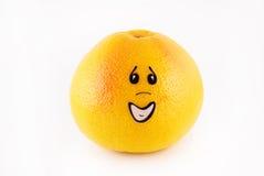 przeprosiny grapefruit osoba Zdjęcie Stock