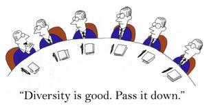 Przepustka ja puszek że różnorodność jest dobra ilustracji