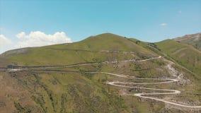 Przepustka kraj otwiera za Ferghana dolinie Zjazdowe lub równe drogi kyrgyzstan góry zbiory