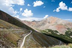 przepustka wysokiej góry Fotografia Royalty Free