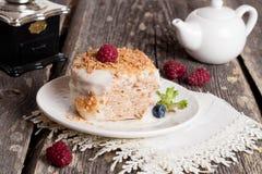 przepyszne ciasto Obrazy Royalty Free