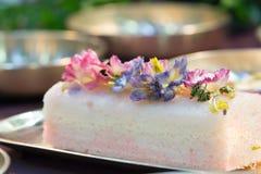 przepyszne ciasto Fotografia Stock