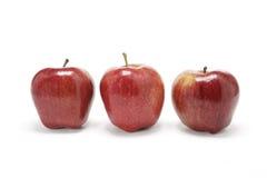 przepyszne czerwone jabłko Fotografia Royalty Free