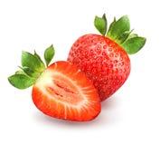 przepyszne czerwone truskawki Obraz Royalty Free