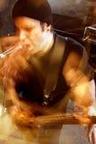 przepływ bass gracza Obraz Royalty Free
