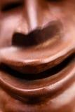Przerażająca uśmiechu afrykanina maska Obraz Royalty Free