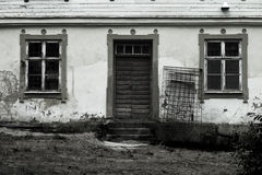 przerażający dom Obrazy Stock