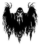 Przerażający duch ilustracja wektor