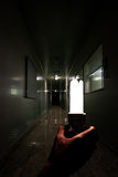 Przerażający ducha lab Fotografia Royalty Free