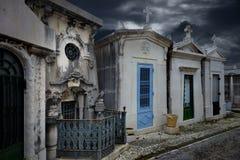 Przerażający grobowiec Fotografia Royalty Free