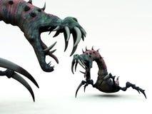 Przerażający Potwory (1) royalty ilustracja
