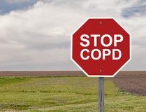 Przerwa COPD obraz stock