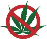 Przerwa dymi marihuany Obraz Royalty Free