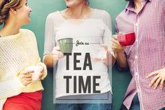 Przerwa Herbaciany Kawowy czas Relaksuje pojęcie Zdjęcie Royalty Free
