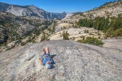 Przerwa po Yosemite wycieczkować Zdjęcie Royalty Free