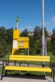 Przerwa teren z koloru pojęciem Zdjęcie Stock