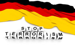 Przerwa terroryzm Fotografia Stock