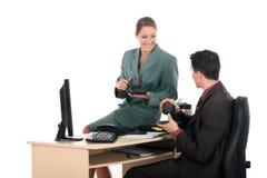 przerwy biuro biznesowy kawowy Zdjęcia Royalty Free