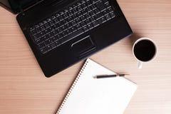 przerwy biuro kawowy komputerowy Zdjęcie Royalty Free