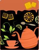 przerwy herbata Fotografia Royalty Free