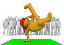 przerwy inkasowy tancerza styl życia Zdjęcia Royalty Free