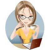 przerwy kawa ilustracji