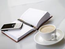 przerwy kawa obrazy stock