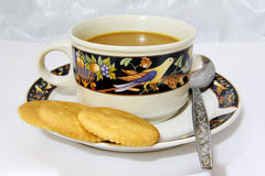 przerwy kawy krakers Obrazy Royalty Free