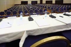 przerwy konferenci pusta sala Obrazy Stock