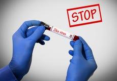 Przerwy zika wirus Zdjęcie Royalty Free