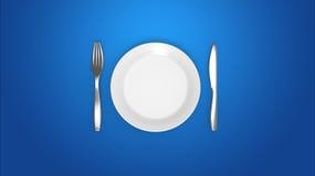 Przerywana zamocowanie dieta royalty ilustracja