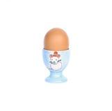 Przerzedże w filiżance gotowanego jajko Obraz Royalty Free