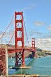 przerzuca most bramę złotą Fotografia Royalty Free