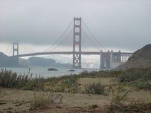 przerzuca most bramę złotą Zdjęcia Stock