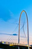 przerzuca most calatrava półmroku Emilia Italy reggio Obrazy Royalty Free