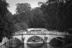 przerzuca most cambrdige romantycznego Obrazy Stock