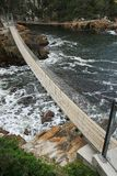 przerzuca most dennego zawieszenie fotografia stock