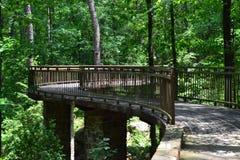 Przerzuca most ślad Zdjęcie Royalty Free