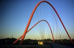 przerzuca most nowożytnego Zdjęcia Stock