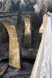 przerzuca most Poland Zdjęcia Stock
