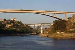 przerzuca most Porto Zdjęcia Stock