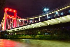 Przerzuca most przydomek Xining obrazy stock