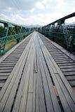 Przerzuca most w pai 16 2015 Grudzień: Obrazy Royalty Free