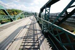 Przerzuca most w pai 16 2015 Grudzień: Fotografia Royalty Free