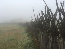 Przesłona mgła zdjęcie royalty free