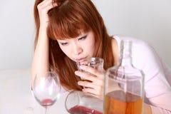 Przesadny pić Zdjęcie Royalty Free