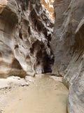 Przesmyki Utah Zion zdjęcie royalty free